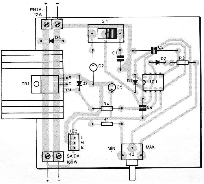 Variador de Tensão Contínua (Usando CI 555) Varios11-com